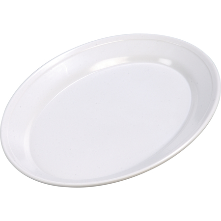 """ARR12002 - Melamine Oval Platter Tray 12"""" x 8.5"""" - White"""