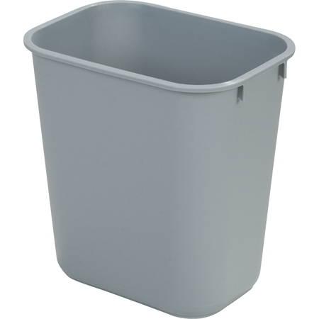 34292823 - Rectangle Office Wastebasket Trash Can 28 Quart - Gray