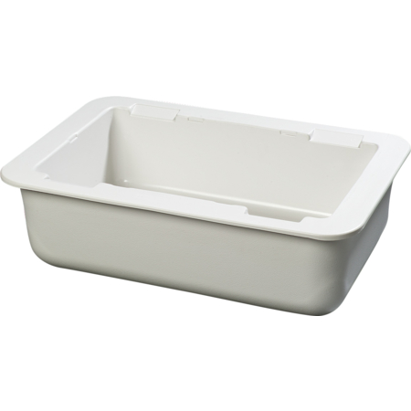 "CM104202 - Coldmaster® 6"" Deep Full-size Coldpan - White"