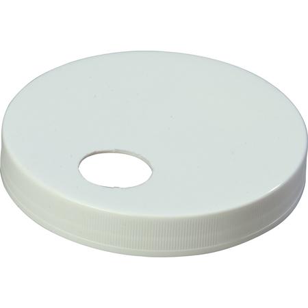 "38310120 - Plastic Cap only 4.72"" - White"