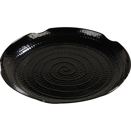 """4451803 - Terra™ Round Textured Platter 18"""" - Black"""