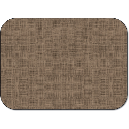 "DX5360M - Tray Cover Size: M w/ Straight Edge/Round Corner 13-5/8"" x 18-3/4"" (1000/cs) - Woven - Tan"