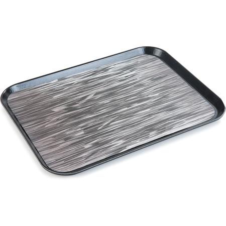 "DXSMC1520NSQ03 - Glasteel™ Quarry Non-Skid Tray 15"" x 20"" (12/cs) - Black"