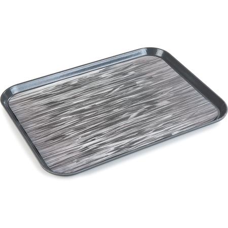 "DXSMC1520NSQ44 - Glasteel™ Non-Skid Tray 15"" x 20"" (12/cs) - Graphite Grey"