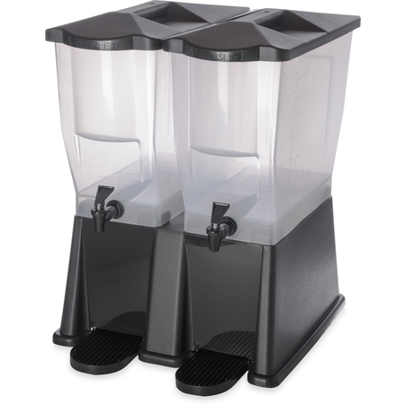 1085703 - TrimLine™ Economy Double Base 2 x 3.5 gal - Black