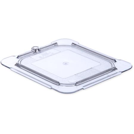 10316U07 - StorPlus™ Polycarbonate Flat Universal Lid 1/6 Size - Clear