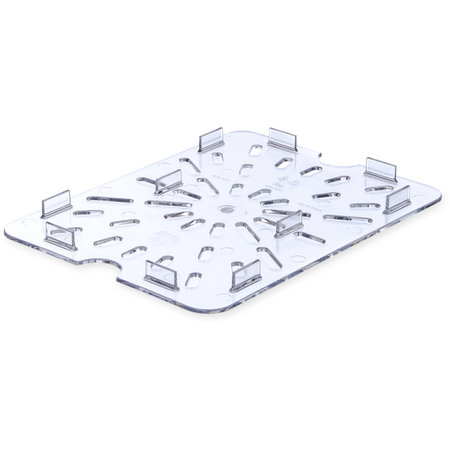 1023507 - StorPlus™ Drain Grate - Food Pan PC 1/2 Size - Clear