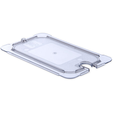 10297U07 - StorPlus™ Polycarbonate Notched Universal Lid 1/4 Size - Clear