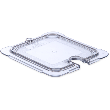 10317U07 - StorPlus™ Polycarbonate Notched Universal Lid 1/6 Size - Clear