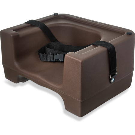 7111-401 - Booster Seat w/ Safety Strap - Brown