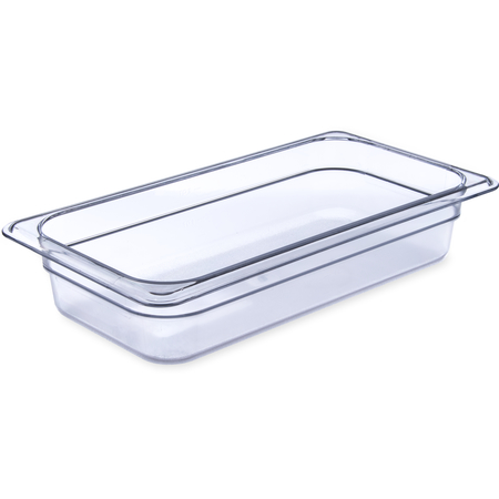 "3066007 - StorPlus™ Food Pan PC 2.5"" DP 1/3 Size - Clear"
