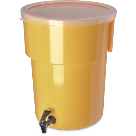 221004 - Round Dispenser 5 gal - Yellow