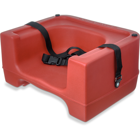 7111-405 - Booster Seat w/ Safety Strap - Red