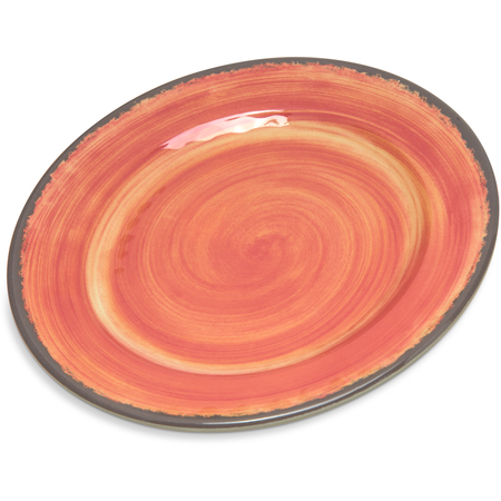 "5400752 - Mingle™ Melamine Bread And Butter Plate 7"" - Fireball"