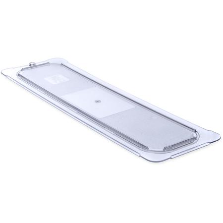10256U07 - StorPlus™ Polycarbonate Flat Universal Lid 1/2 Long Size - Clear