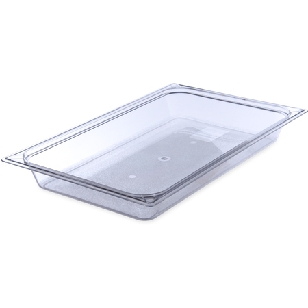 "10200B07 - StorPlus™ Food Pan PC 2.5"" DP Full Size - Clear"