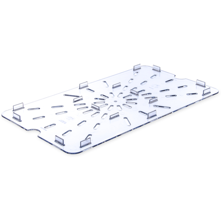 1021507 - StorPlus™ Polycarbonate Food Pan Drain Grate Full-Size - Clear