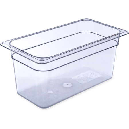 "3066207 - StorPlus™ Polycarbonate Food Pan 1/3 Size, 6"" Deep - Clear"