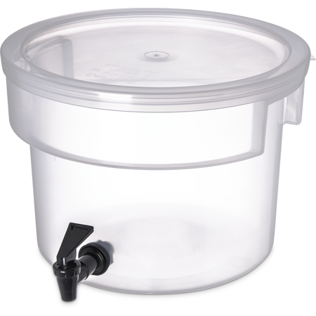 221930 - Round Beverage Dispenser 3 Gallon - See Thru