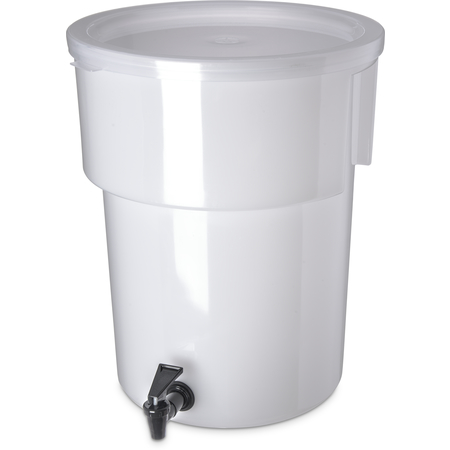 221002 - Round Dispenser 5 gal - White