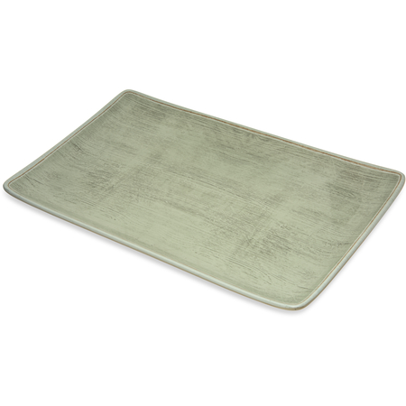 "6401546 - Melamine Rectangle Platter Tray 15"" x 9"" - Jade"