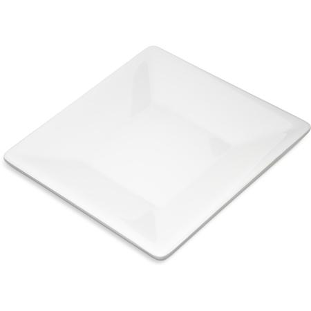 "6402702 - Grove Melamine Square Plate 6"" - White"