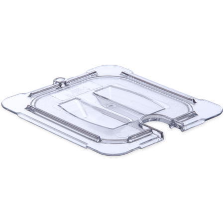 10311U07 - StorPlus™ Polycarbonate Notched Handled Universal Lid 1/6 Size - Clear
