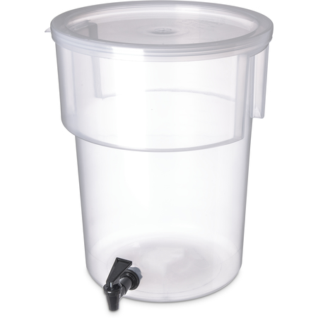 220930 - Round Dispenser 5 gal - See Thru