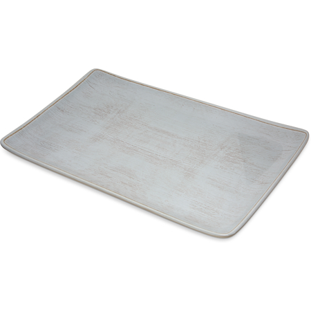 "6401506 - Grove Melamine Rectangle Platter Tray 15"" x 9"" - Buff"