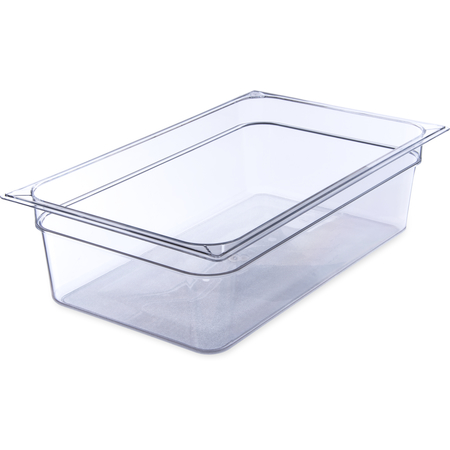 "10202B07 - StorPlus™ Food Pan PC 6"" DP Full Size - Clear"