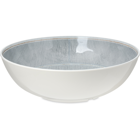 6401718 - Melamine Large Bowl 5.2 Quart - Smoke