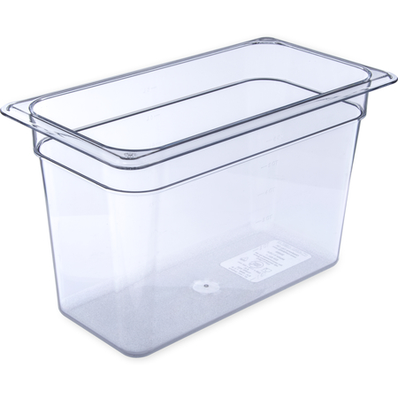"3066907 - StorPlus™ Polycarbonate Food Pan 1/3 Size, 8"" Deep - Clear"