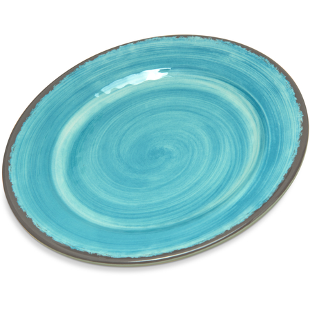 "5400715 - Mingle™ Melamine Bread And Butter Plate 7"" - Aqua"
