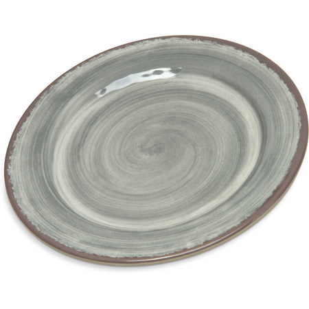 "5400718 - Mingle Melamine Bread And Butter Plate 7"" - Smoke"