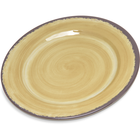 "5400713 - Mingle Melamine Bread And Butter Plate 7"" - Amber"