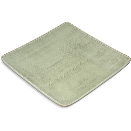"6400946 - Grove Melamine Square Plate 9"" - Jade"
