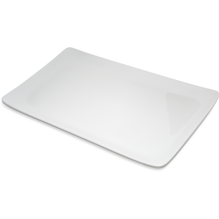 "6401502 - Melamine Rectangle Platter Tray 15"" x 9"" - White"