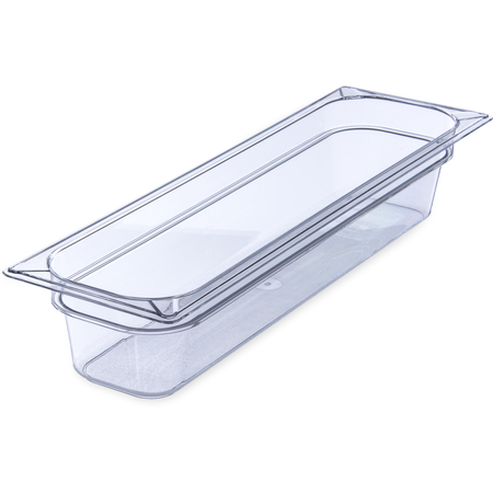 "10241B07 - StorPlus™ Food Pan PC 4"" DP 1/2 Size - Clear"