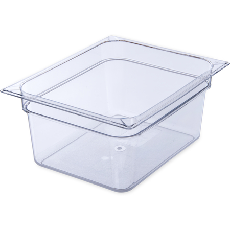 "10222B07 - StorPlus™ Polycarbonate Food Pan 1/2 Size, 6"" Deep - Clear"