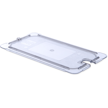 10277U07 - StorPlus™ Polycarbonate Notched Universal Lid 1/3 Size - Clear