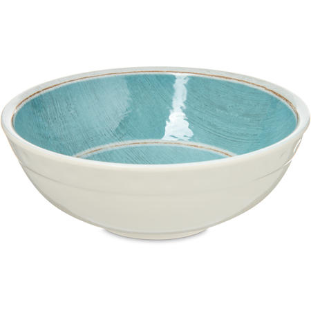 6400515 - Grove Melamine Small Bowl 17 oz - Aqua