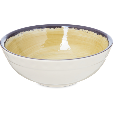 5400513 - Mingle Melamine Small Bowl 17 oz - Amber