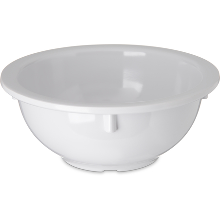 4352202 - Dallas Ware® Melamine Rimmed Nappie Bowl 14 oz - White