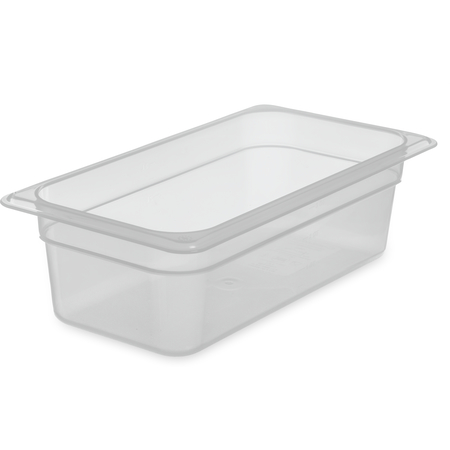 "7066130 - StorPlus™ Food Pan PP 4"" DP 1/3 Size - Translucent"