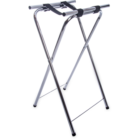 """C3625T38 - Steel Tray Stand 36"""" - Chrome"""