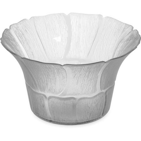 """693107 - Petal Mist® Bell Bowl 3.4 qt, 9-3/4"""" - Clear"""