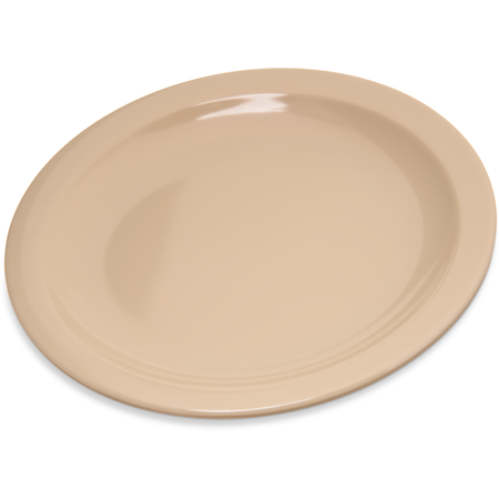 "4350425 - Dallas Ware® Melamine Pie Plate 6-1/2"" - Tan"