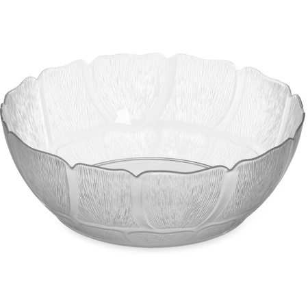 "691407 - Petal Mist® Bowl 5.7 qt, 11-15/16"" - Clear"