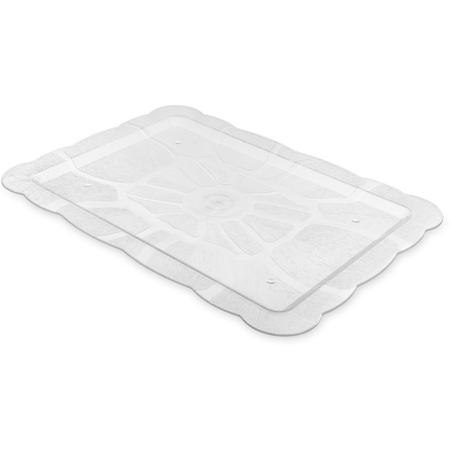 "694707 - Petal Mist® Rectangular Tray 21-15/16"" x 15-15/16"" - Clear"