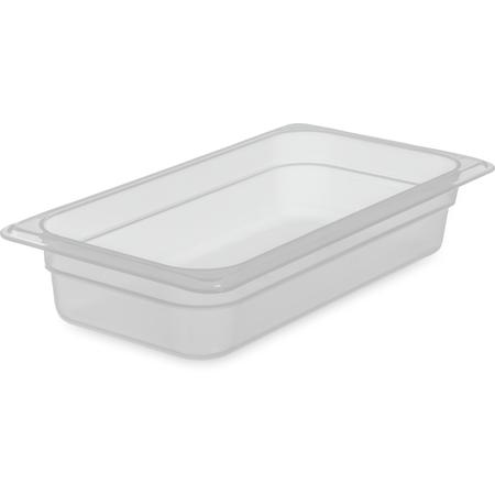 "7066030 - StorPlus™ Food Pan PP 2.5"" DP 1/3 Size - Translucent"